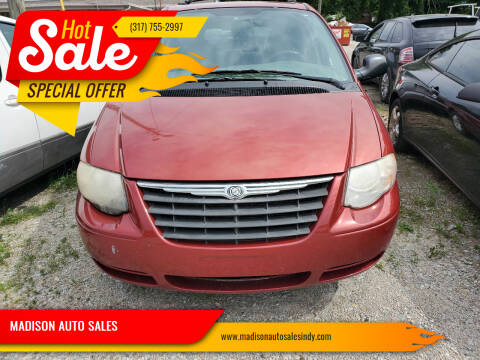 2007 Chrysler Town and Country for sale at MADISON AUTO SALES in Indianapolis IN