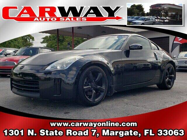 2007 Nissan 350Z for sale at CARWAY Auto Sales in Margate FL