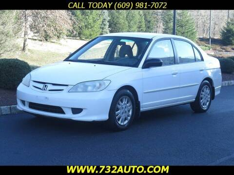 2005 Honda Civic for sale at Absolute Auto Solutions in Hamilton NJ
