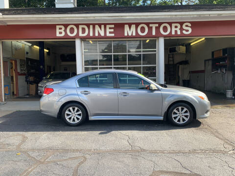2010 Subaru Legacy for sale at BODINE MOTORS in Waverly NY