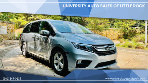 2020 Honda Odyssey for sale at University Auto Sales of Little Rock in Little Rock AR