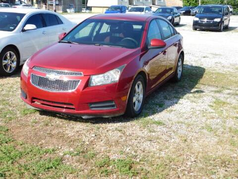 2012 Chevrolet Cruze for sale at National Advance Auto Sales in Florence AL