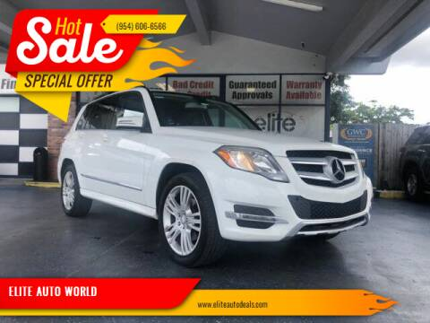 2014 Mercedes-Benz GLK for sale at ELITE AUTO WORLD in Fort Lauderdale FL
