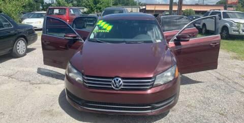 2013 Volkswagen Passat for sale at Auto Mart in North Charleston SC