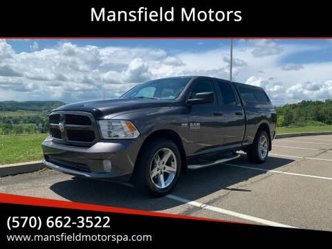 2017 RAM Ram Pickup 1500 for sale at Mansfield Motors in Mansfield PA