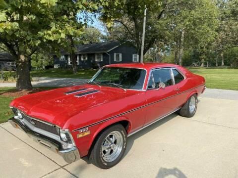 1972 Chevrolet Nova for sale at Classic Car Deals in Cadillac MI