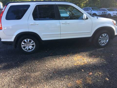 2006 Honda CR-V for sale at MILLDALE AUTO SALES in Portland CT