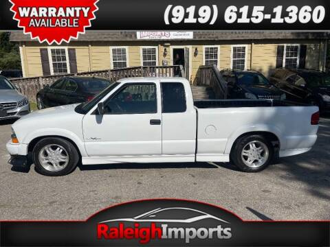 2001 Chevrolet S-10 for sale at Raleigh Imports in Raleigh NC