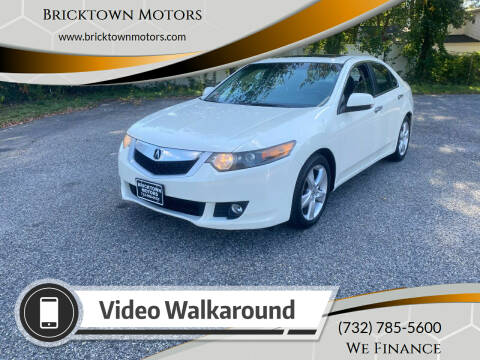 2009 Acura TSX for sale at Bricktown Motors in Brick NJ