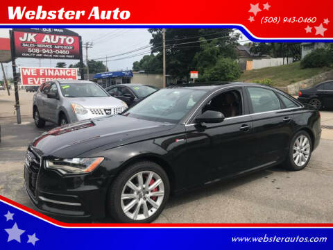 2015 Audi A6 for sale at Webster Auto Sales in Webster MA