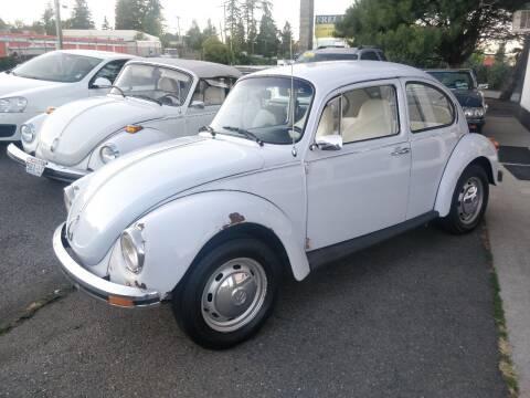1973 Volkswagen Beetle for sale at SS MOTORS LLC in Edmonds WA