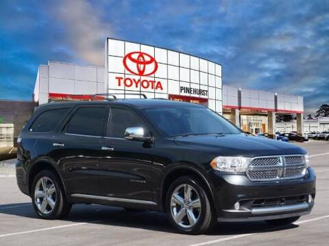 2012 Dodge Durango for sale at PHIL SMITH AUTOMOTIVE GROUP - Pinehurst Toyota Hyundai in Southern Pines NC
