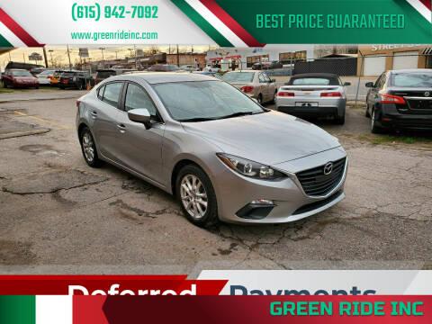 2014 Mazda MAZDA3 for sale at Green Ride Inc in Nashville TN