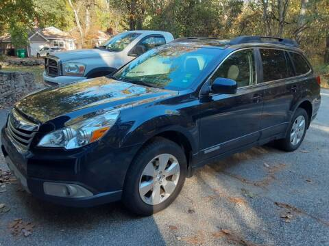 2012 Subaru Outback for sale at Cappy's Automotive in Whitinsville MA