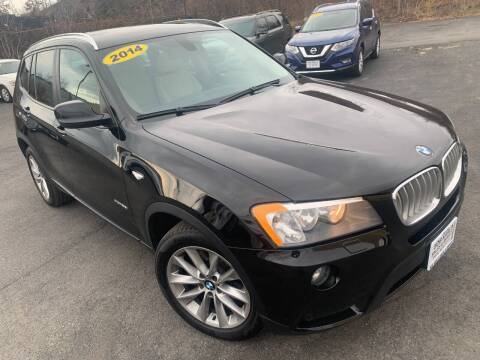 2014 BMW X3 for sale at Bob Karl's Sales & Service in Troy NY