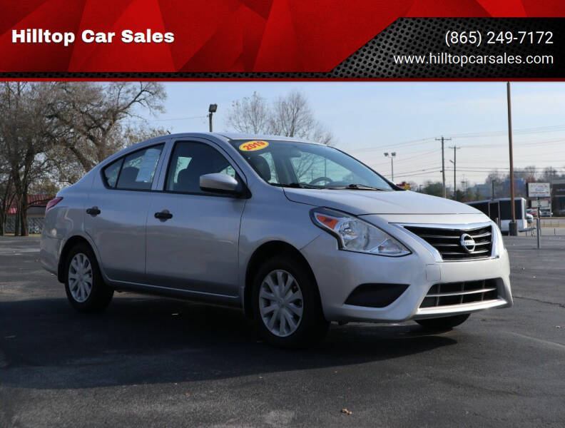2019 Nissan Versa for sale at Hilltop Car Sales in Knox TN