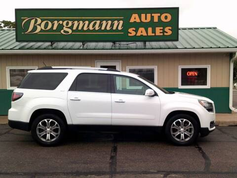 2016 GMC Acadia for sale at Borgmann Auto Sales in Norfolk NE