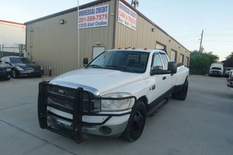 2008 Dodge Ram Pickup 3500 for sale at Universal Credit in Houston TX
