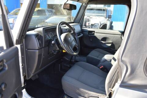 2006 Jeep Wrangler for sale at Earnest Auto Sales in Roseburg OR