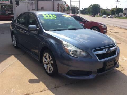 2013 Subaru Legacy for sale at Harrison Family Motors in Topeka KS