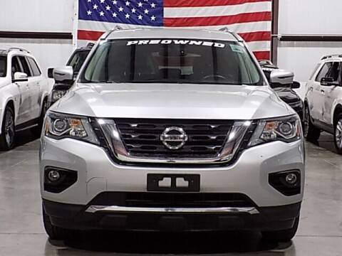 2019 Nissan Pathfinder for sale at Texas Motor Sport in Houston TX
