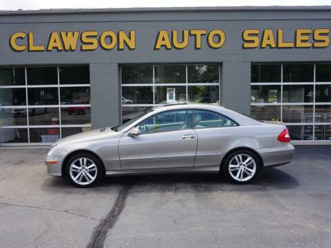 2008 Mercedes-Benz CLK for sale at Clawson Auto Sales in Clawson MI