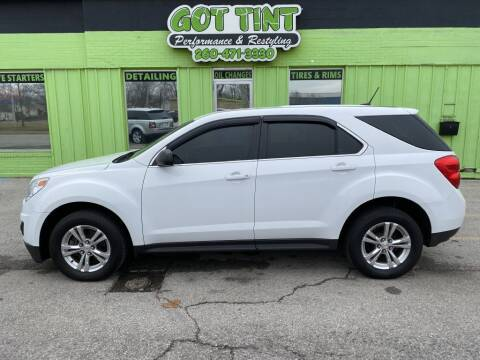 2013 Chevrolet Equinox for sale at GOT TINT AUTOMOTIVE SUPERSTORE in Fort Wayne IN