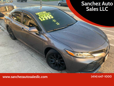 2018 Toyota Camry for sale at Sanchez Auto Sales LLC in Milwaukee WI