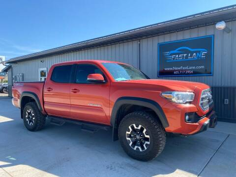 2017 Toyota Tacoma for sale at FAST LANE AUTOS in Spearfish SD