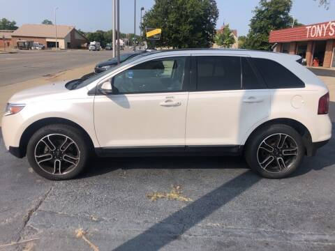 2014 Ford Edge for sale at Tonys Car Sales in Richmond IN
