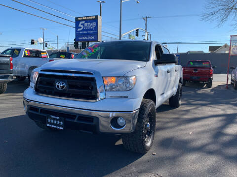 2012 Toyota Tundra for sale at 5 Star Auto Sales in Modesto CA