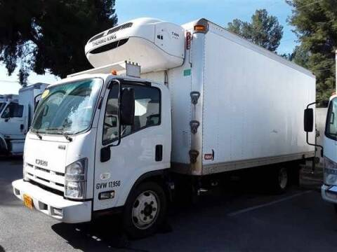 2013 Isuzu N.Q.R  18' REEFER BOX for sale at Online Auto Group Inc in San Diego CA