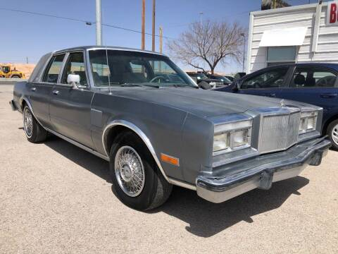 1985 Chrysler Fifth Avenue for sale at Eastside Auto Sales in El Paso TX