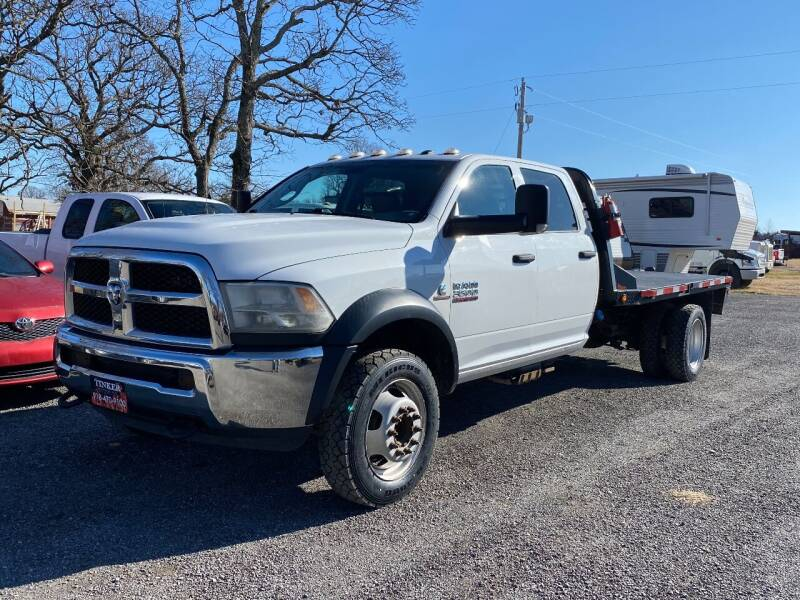 2017 RAM Ram Chassis 5500 for sale at TINKER MOTOR COMPANY in Indianola OK