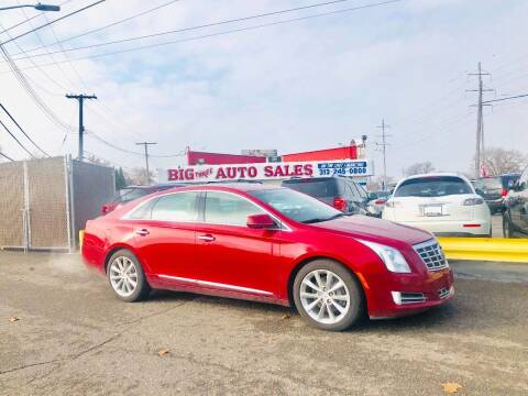 2014 Cadillac XTS for sale at Big Three Auto Sales Inc. in Detroit MI