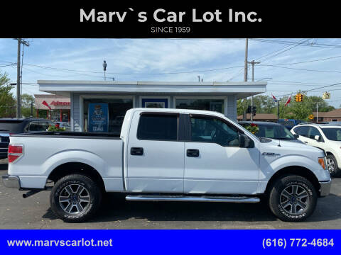 2011 Ford F-150 for sale at Marv`s Car Lot Inc. in Zeeland MI