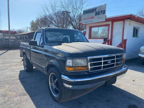 1996 Ford F-150 for sale at Crosby Auto LLC in Kansas City MO
