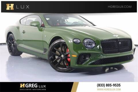 2020 Bentley Continental for sale at HGREG LUX EXCLUSIVE MOTORCARS in Pompano Beach FL