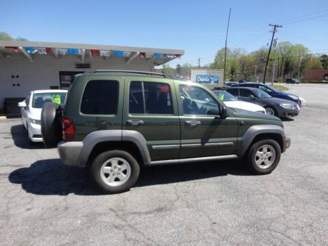 2006 Jeep Liberty for sale at HAPPY TRAILS AUTO SALES LLC in Taylors SC