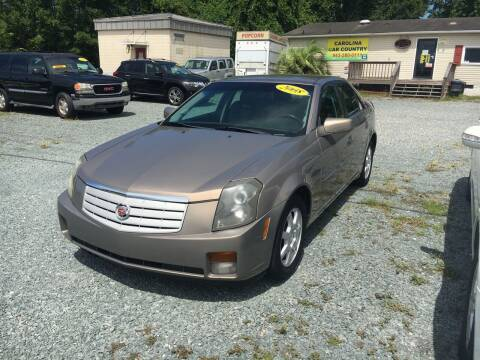 2007 Cadillac CTS for sale at Carolina Car Country in Little River SC