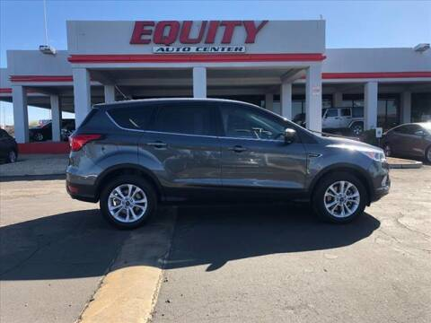 2019 Ford Escape for sale at EQUITY AUTO CENTER in Phoenix AZ