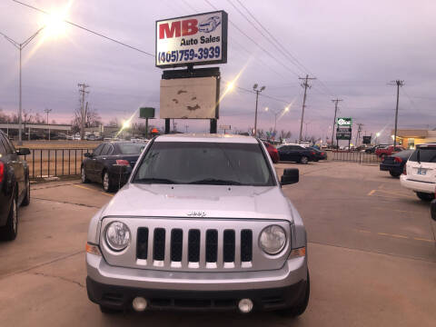 2011 Jeep Patriot for sale at MB Auto Sales in Oklahoma City OK
