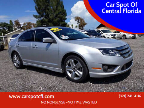 2011 Ford Fusion for sale at Car Spot Of Central Florida in Melbourne FL