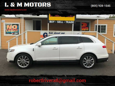 2012 Lincoln MKT for sale at L & M MOTORS in Santa Maria CA