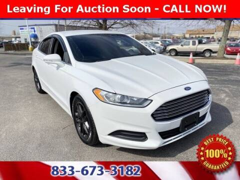 2015 Ford Fusion for sale at Glenbrook Dodge Chrysler Jeep Ram and Fiat in Fort Wayne IN