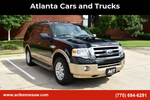 2014 Ford Expedition for sale at Atlanta Cars and Trucks in Kennesaw GA