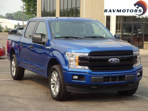 2018 Ford F-150 for sale at RAVMOTORS 2 in Crystal MN