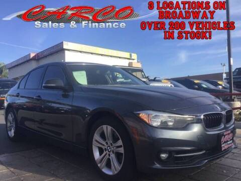 2016 BMW 3 Series for sale at CARCO SALES & FINANCE #3 in Chula Vista CA