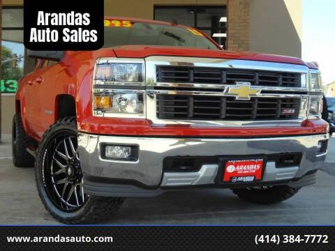 2015 Chevrolet Silverado 1500 for sale at Arandas Auto Sales in Milwaukee WI
