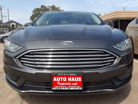 2017 Ford Fusion Hybrid for sale at Auto Haus Imports in Grand Prairie TX